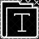 Text Folder Text Folder Icon