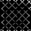 Text Folder Data Icon