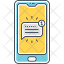 Mtext Message Text Message Mobile Message Icon