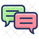 Text Messaging Bubbles Icon