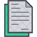 Text Sheet Icon