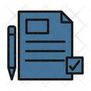 Text Sheet File Editing Documents Icon