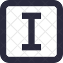 Text Tool T Square Icon