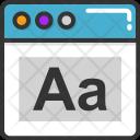 Text Tool Digital Icon