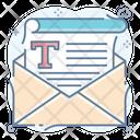 Text Type Icon