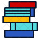 Textbook Stack Read Icon