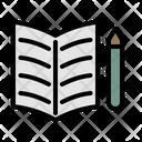 Textbook Diary Notepad Icon
