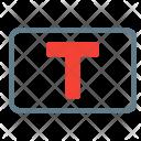 Textbox Icon