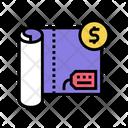 Textile Price Textile Price Icon