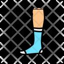 Textile Sock Color Icon