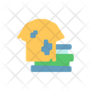 Textile Fabric Recycling Icon