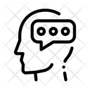 Typing Message Man Icon