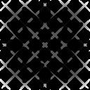 Texture Design Snowflake Icon