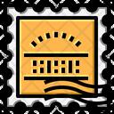 Stamp Square Grunge Icon