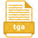 Tga File Formats Icon