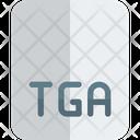 Tga File Tga File Format Icon