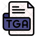 Tga File Type File Format Icon