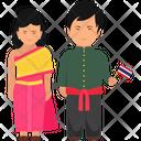 Thai Outfit Thai Clothing Thailand Dress Icon