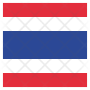 Thailand National Country Icon