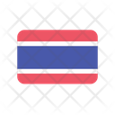 Thailand Flag Country Icon