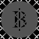 Thailand Thai Baht Icon