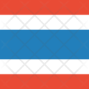 Thailand Flag World Icon