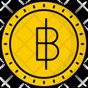 Thailand Baht Coin Money Icon
