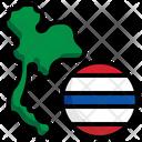Thailand Flag Flag Nation Icon