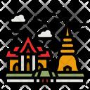 Thailand Temple Icon