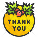 Thank You Adornment Berry Icon