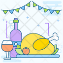 Festival Holiday Thanksgiving Thanksgiving Event Icon