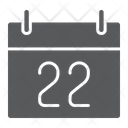 Thanksgiving Calendar Holiday Icon
