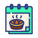 Thanksgiving Day Thanksgiving Calendar Icon