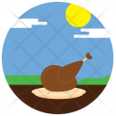 Thanksgiving Day Roast Icon