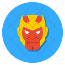 Thanos Thanos Mascot Cartoon Character Icon