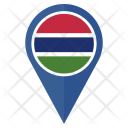 The Gambia Flag Icon