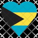 The Bahamas Flag Icon