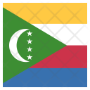 The Comoros Flag Icon