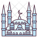 Blue Mosque Sultan Ahmed Mosque Historic Mosque Icon