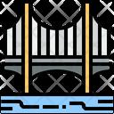 The Bridge Bridge Construction Icon