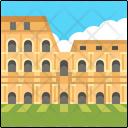 The Colosseum Italy Landmark Icon