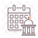 The House Calendar Schedule Planning Icon