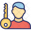 The key man Icon