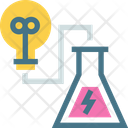 Lab Testing Scientific Icon
