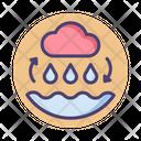 The Water Cycle Rain Cycle Cloud Icon