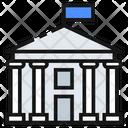 The White House United States America Icon
