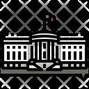 The White House Washington Dc Landmark Icon
