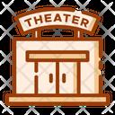 Theater Movie Theater Film Icon