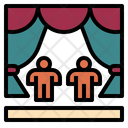 Theater Stage Performance Icon