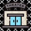 Theater Cinema Building Icon